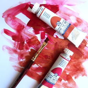 penselen voor gouache