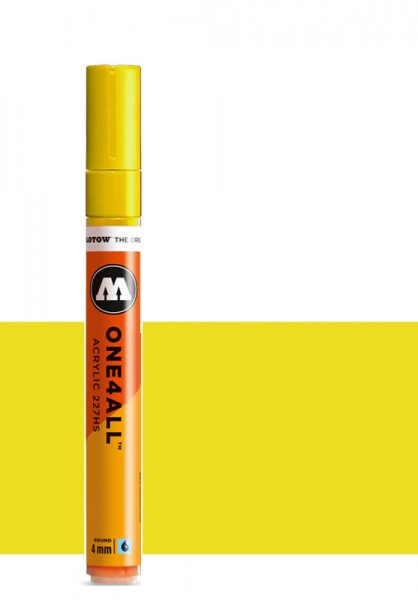 Molotow One4All Acryl Marker 227HS 4mm ZINC YELLOW