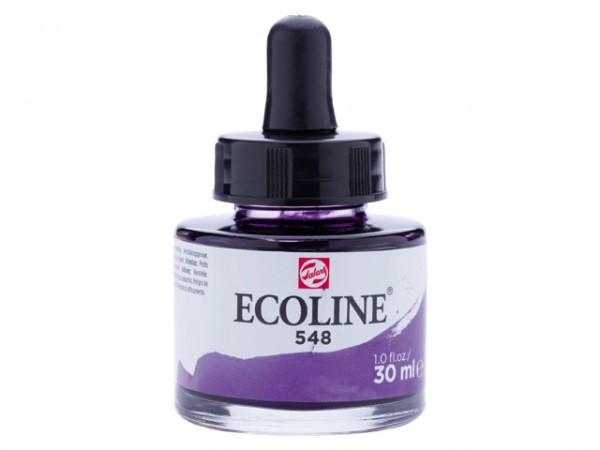 Talens ecoline inkt 30ml - 548 Blauwviolet Inkt Kroontjespen