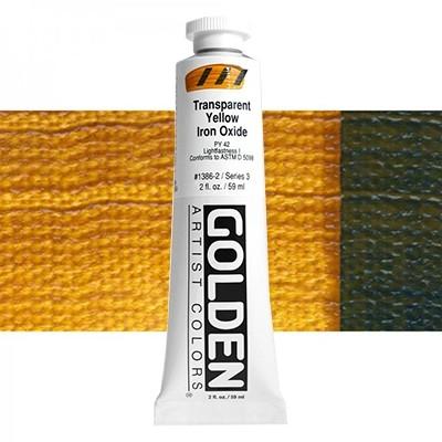 Heavy Body 1386 S3 Ijzeroxydgeel transparant Golden 60ml