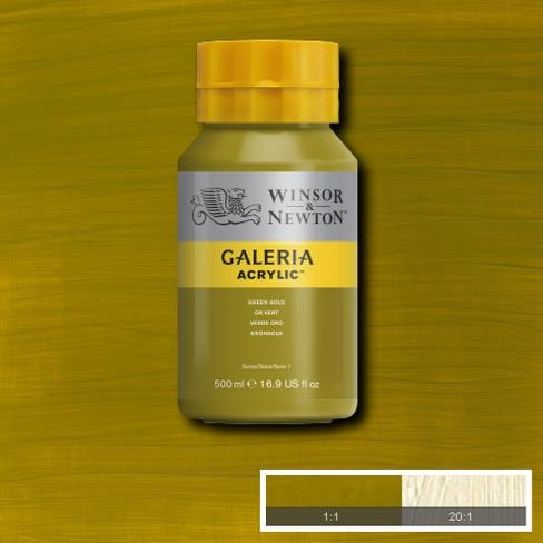 Galeria Acryl 500ml 294 S1 Green Gold
