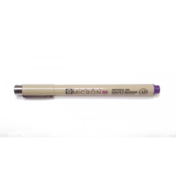 Pigma Micron 05 (0.45mm) PURPLE #24 Sakura Fineliner