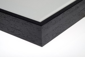 zwarte eco baklijst 90 cm