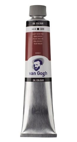 Engelsrood 339 Olieverf 200 ml. Van Gogh