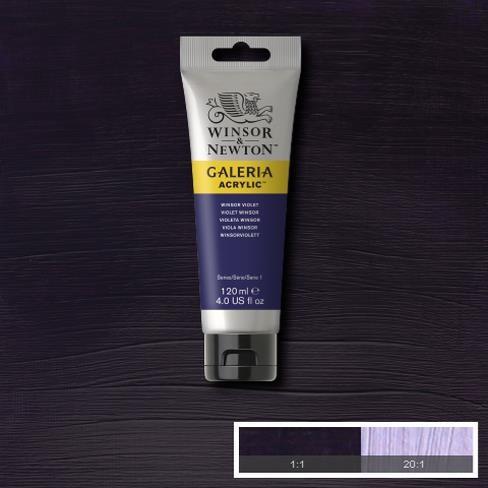 Galeria Acryl 120ml 728 S1 Winsor Violet