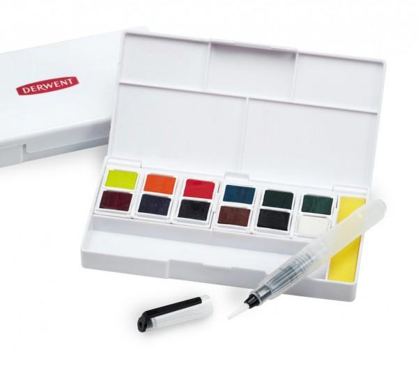 Derwent Inktense paint pan travel set #2 Aquarelverf