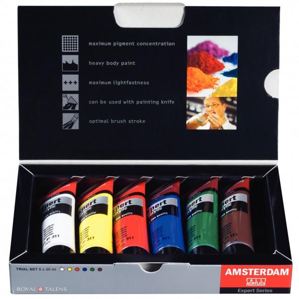 Amsterdam Expert Acrylverf Set 6 x 20 ml
