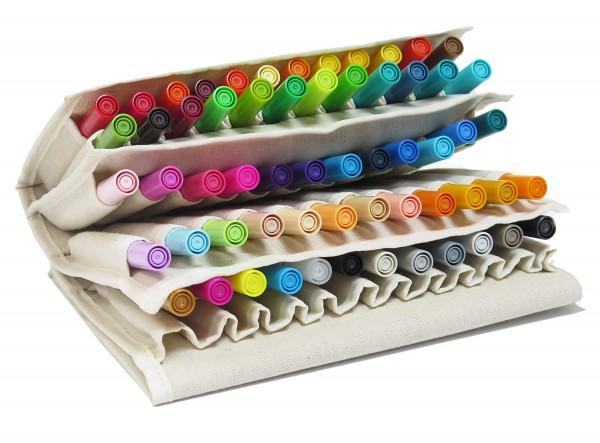 Ecoline Brushpen set 60 - alle kleuren met etui