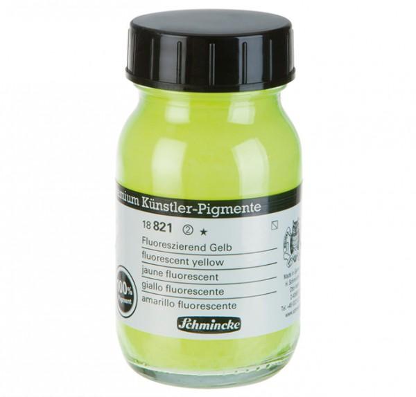 NEON Fluor geel pigment poeder
