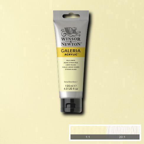 Galeria Acryl 120ml 434 S1 Pale Lemon