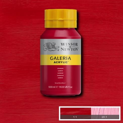 Galeria Acryl 500ml 203 S1 Crimson