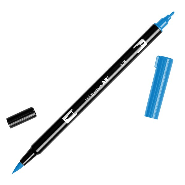 Tombow Dual Brush 476 Cyan