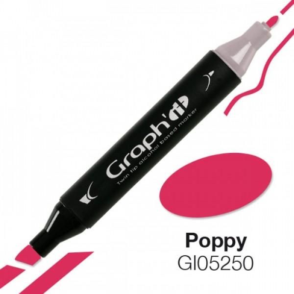 Graph'it marker 5250 Poppy Alcohol Marker