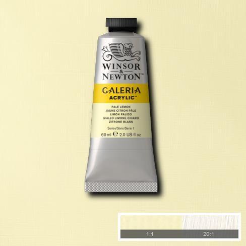 Galeria Acryl 60ml 434 S1 Pale Lemon