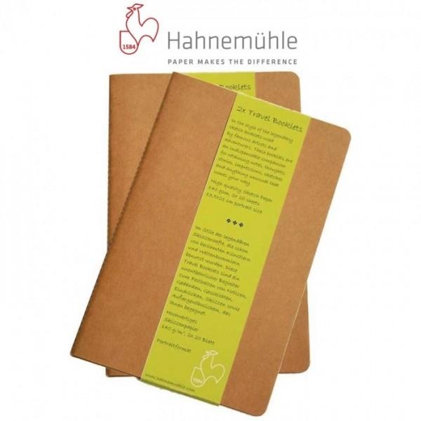 Travel Booklet Schetsboekje (per 2) 9 x14 cm Hahnemuhle