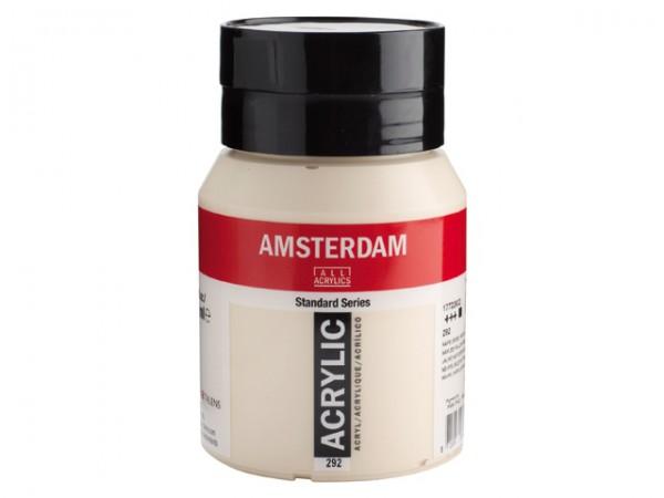 Amsterdam Acryl 500ml 292 Napelsgeel Rood Licht