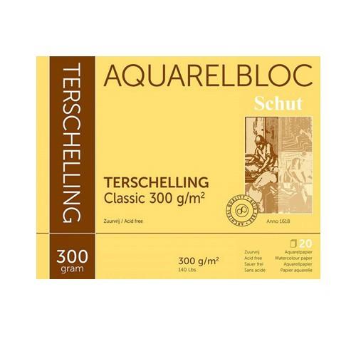 Terschelling Classic 300 gr 20x20 Aquarelpapier