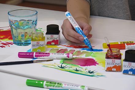Ecoline Brushpen penseel punt marker