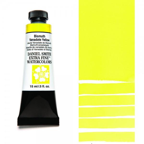 Bismuth Vanadate Yellow Serie 2 Watercolor 15 ml. Daniel Smith