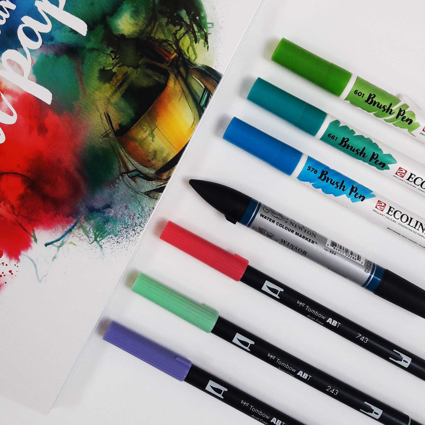 Aquarel Markers