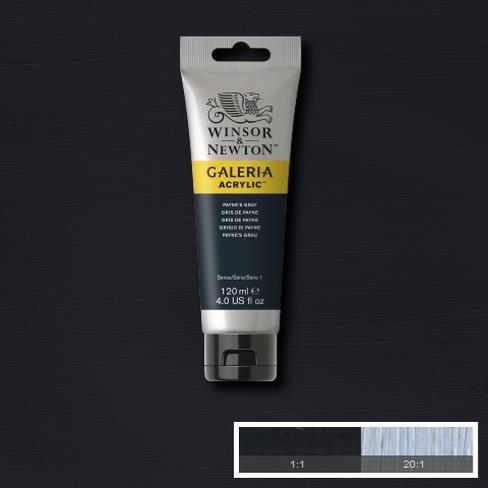 Galeria Acryl 120ml 465 S1 Paynes Grey