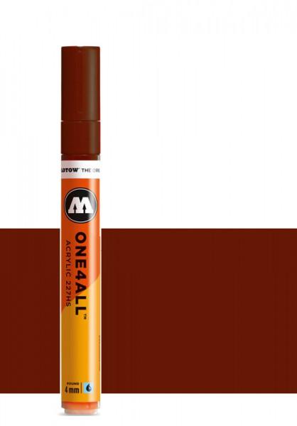 Molotow One4All Acryl Marker 227HS 4mm HAZELNUT BROWN Paint marker