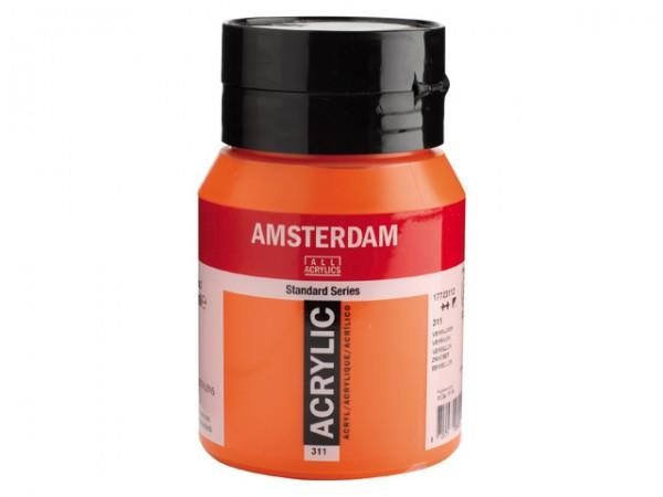 Amsterdam Acryl 500ml 311 Vermiljoen