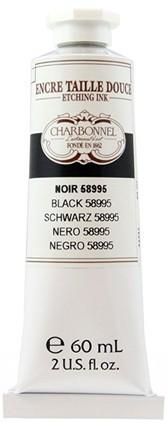 Charbonel Etching Ets Inkt 60 ml Zwart