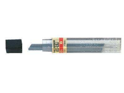 B 0,5 mm Grijs Vulpotloodstift Navulling Pentel