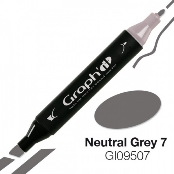 Graph'it marker 9507 Neutral Grey 7 Alcohol Marker