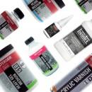 Acrylmedium, Gel & Vernis