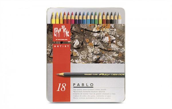 Pablo blik 18 kleuren set Caran D'Ache