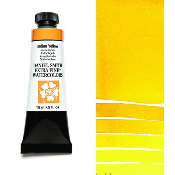 Indian Yellow Serie 3 Watercolor 15 ml. Daniel Smith