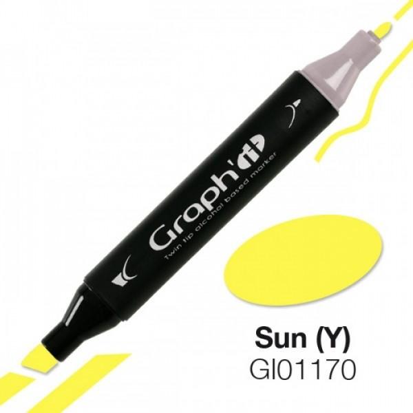 Graph'it marker 1170 Sun Alcohol Marker