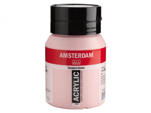 Amsterdam Acryl 500ml 330 Perzischrose