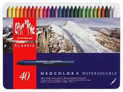 Neocolor II Watersoluble - Set 40