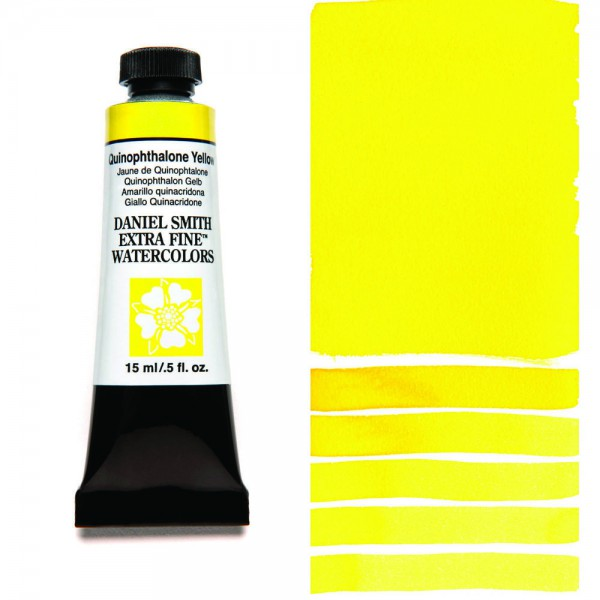 Quinophthalone Yellow Serie 3 Watercolor 15 ml. Daniel Smith