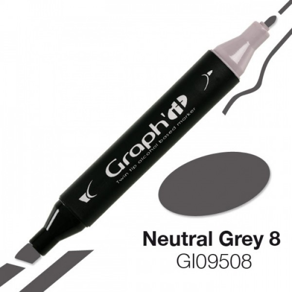 Graph'it marker 9508 Neutral Grey 8 Alcohol Marker