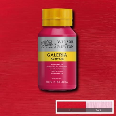 Galeria Acryl 500ml 533 S1 Process Magenta