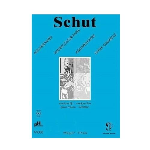 Schut Dessin Aquarel 250 gr. A4 blauw Studiekwaliteit