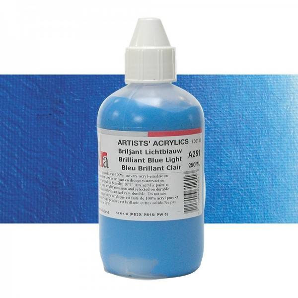 ARA Artists Acrylics 250ml A251 BRILJANT LICHTBLAUW