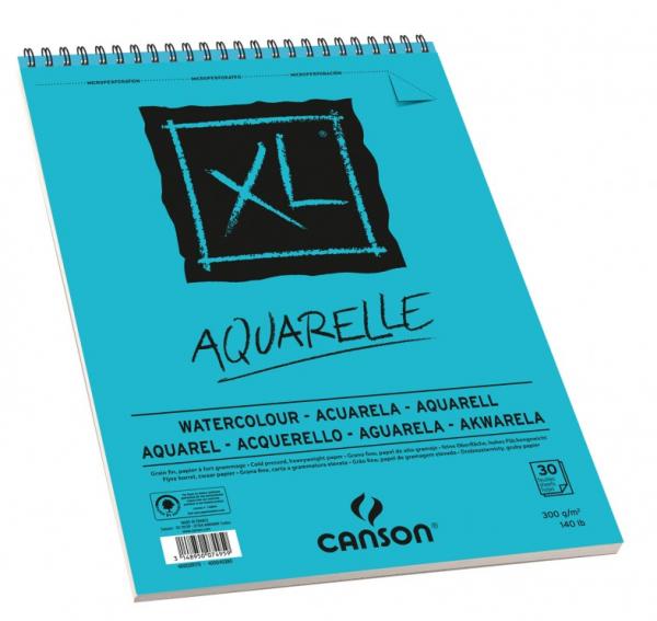A5 Aquarelle 300 gr Papier Canson XL