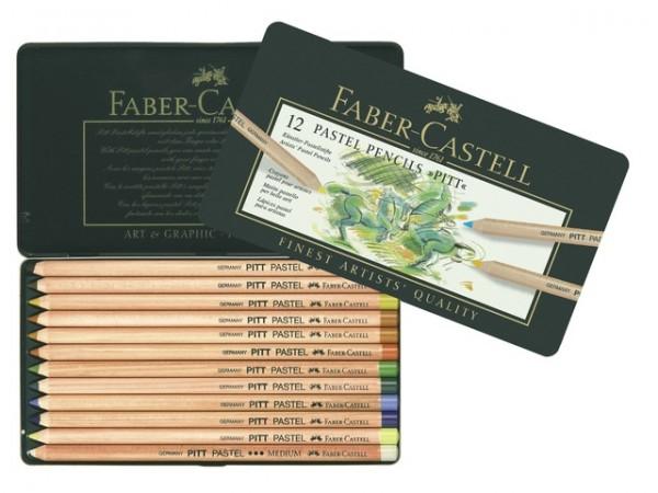 Faber Castell 12 Pastelpotloden Pitt