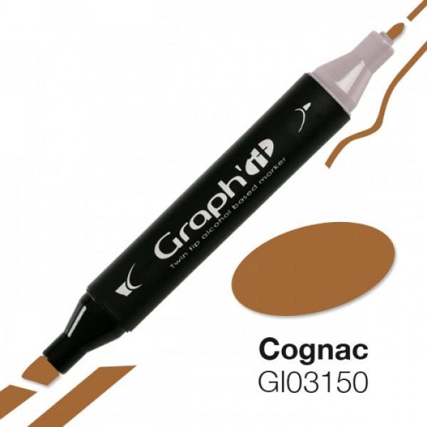 Graph'it marker 3150 Cognac