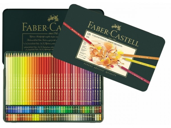 Faber Castell 120 Kleurpotloden Polychromos
