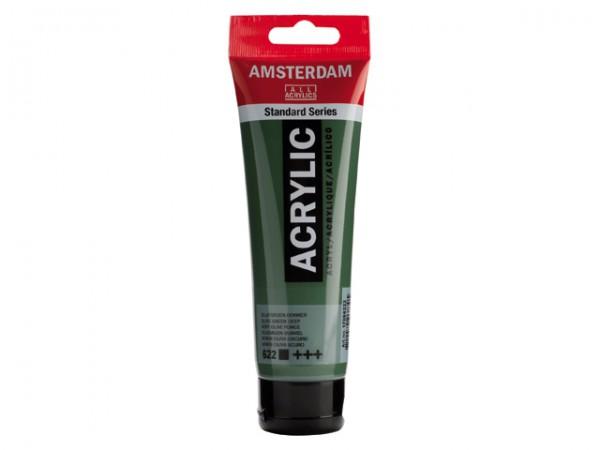 Amsterdam Acryl 120ml 622 Olijfgroen Donker
