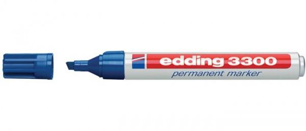 Edding E-3300 Blauw 003 rond 1-5 mm Permanent Marker