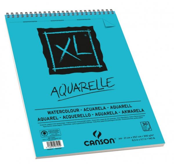 A4 Aquarelle 300 gr Papier Canson XL