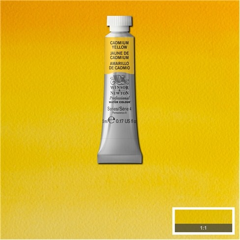 Artist's Aquarel Cadmium Yellow 5ml 108 S4