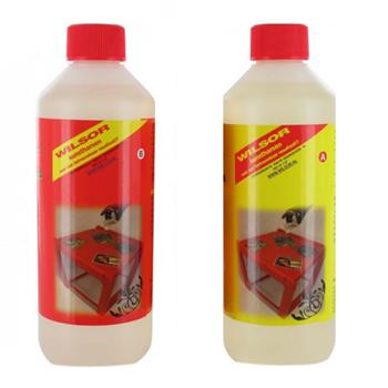 Heldere Epoxyhars 500 ml set Wilsor